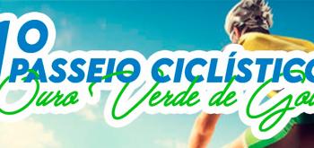 Inscrição para o 1º Passeio Ciclístico de Ouro Verde de Goiás