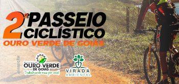 Inscrição para o 2º Passeio Ciclístico de Ouro Verde de Goiás